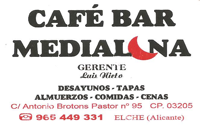 Café Bar Media Luna