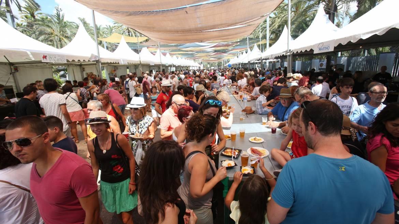 Cerca de 400.000 personas han participado en las Fiestas de Agosto más multitudinarias