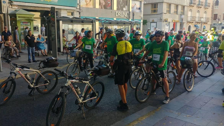 Gran afluencia en la Marcha Urbana Ciclista y Patinadora