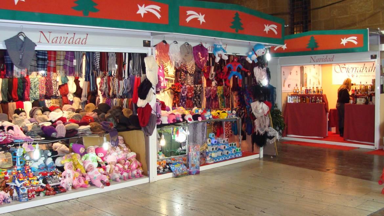 Mercado de Navidad en la Glorieta